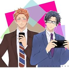 Hirotaka and Kabakuro Otaku Anime, Anime Manga, Koi, Anime Group, Manhwa Manga, Childhood Friends, Fujoshi, Shoujo, Me Me Me Anime