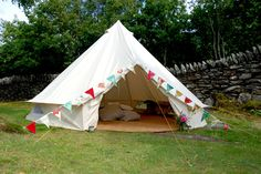 Bell tent  from The Girly Guide to Camping's Blog