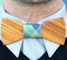 pajarita madera