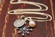 Snowflake Jewelry Gifts for HER Holiday by LillyputLaneDesignCo, $48.00