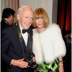Anna and Bill @ an event in his honor last week in New York.