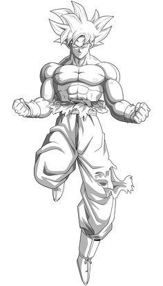Giant Spirit MUI Goku by MajorLeagueGaminTrap on DeviantArt