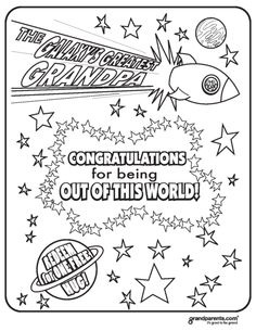 worlds greatest grandpa coloring pages - photo#6