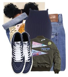 """"" by tonibalogni ❤ liked on Polyvore featuring Nobody Denim, MCM, Michael Kors, women's clothing, women, female, woman, misses and juniors"