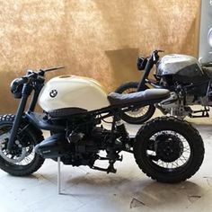 Vintage69_Motorcycles  did not realise just 1 great looking R1100, but 2 at a time! They call this one a scrambler, but apa...