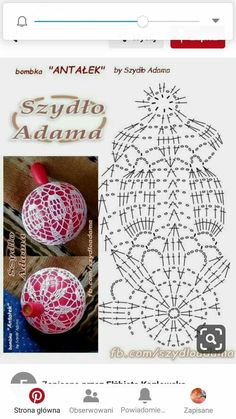 Discover thousands of images about Ornament – Christmas Crochet Crochet Christmas Decorations, Crochet Christmas Ornaments, Crochet Decoration, Christmas Crochet Patterns, Holiday Crochet, Christmas Crafts, Crochet Diagram, Crochet Motif, Crochet Doilies