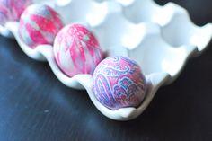 How To Dye Easter Eggs Using Old Silk Neckties (Yes, Ties!)