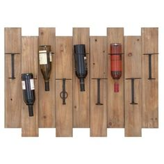 Check out this item at One Kings Lane! Yountville Wine Rack. Can do this with pallets!!!