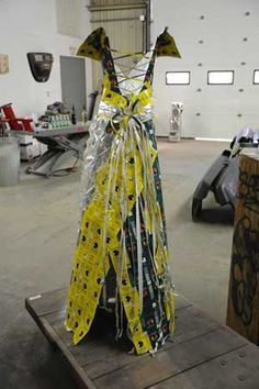 "Katie Bassett  ""Smoking Gown"" Back View 2010-2011  Cigarette Packs"