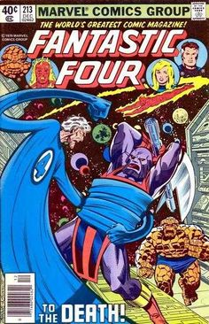 Fantastic Four #213 - To The Death!