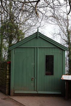 ~ Dylan Thomas writing shed ~ just along the path from Dylan Thomas' Boat House on the bank of the river Taff, overlooking Carmarthen Bay at Laugharne ~ Wales ~