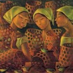One of the beautiful painting of Anita Magsaysay Ho.