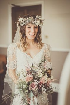 Yolancris for a Boho Bride and her Laid Back Winter Barn Wedding | Love My Dress® UK Wedding Blog