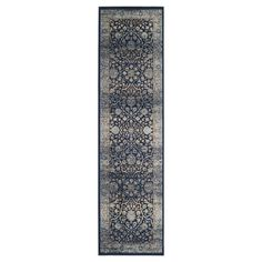 Aberdeen Runner - Navy / Light Blue (2'2 X 8' ) - Safavieh