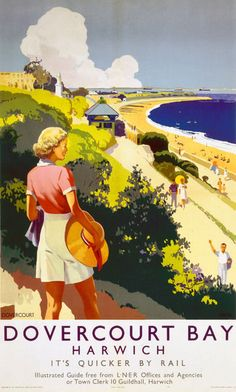 Posters Uk, Train Posters, Railway Posters, Woman Looking Down, A4 Poster, Poster Prints, Art Print, British Travel, National Railway Museum