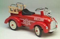 Firetruck toddler ride toy. http://www.toylinksinc.com/