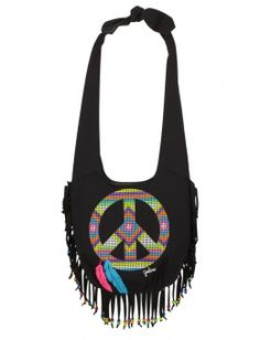 Oh my, peace fringe.  So cute.  I love hand bags, especially ones with peaces signs and this one has fringe.  3 of my favorite things in fashion.