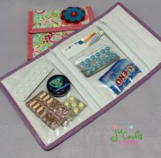 Bug Crafts, Sewing Crafts, Diy And Crafts, Sewing Projects, Projects To Try, Sewing Hacks, Sewing Tutorials, Wool Embroidery, Bag Organization