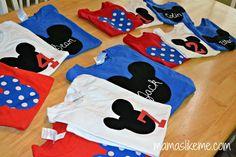 Mamas Like Me: DIY Mickey Mouse Shirts