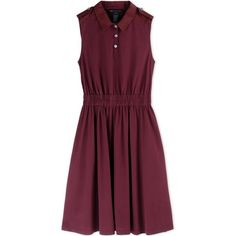Marc By Marc Jacobs Short Dress (€405) ❤ liked on Polyvore featuring dresses, maroon, frilly dress, short pleated dress, ruffle dress, short purple dresses and mini dress