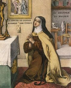 """""""My director, Jesus, does not teach me to count my acts, but to do everything for love, to refuse Him nothing, to be pleased when He gives me a chance to prove to Him that I love Him - but all this in peace - in abandonment."""" ~ St. Therese of Lisieux in a letter to Celine, July 6, 1893 #CatholicConnect"""