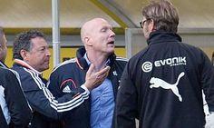 Bayern Munich and Borussia Dortmund turn phoney war into feisty feud Phoney War, Champions League, Munich, Adidas Jacket, Graphic Sweatshirt, Football, Sweatshirts, Jackets, Borussia Dortmund
