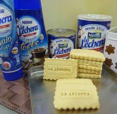 Galletas de leche condensada La Lechera