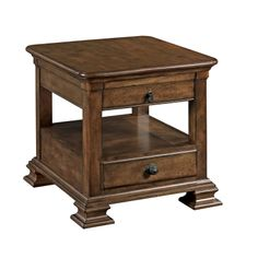 Kincaid 95-022 Portolone Rectangular End Table available at Hickory Park Furniture Galleries