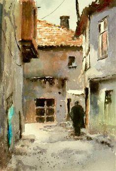 Watercolor by Mineke Reinders                                                                                                                                                                                 Mehr