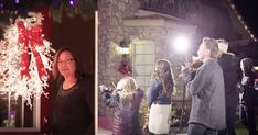 The incredibly talented folks behind The Five Strings decided to help brighten people's Christmas with an amazing Christmas flash mob. They went door to door ringing the door and one little girl would start to sing. And just when these unsuspecting homeowners thought it was only singing, the flash mob started! As more and more musicians and singers joined in I got some serious chills! What a way to spread Christmas cheer!