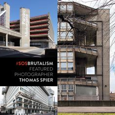 Featured Photographer: Thomas Spier captures the aesthetics of 60s and 70s Brutalism in a unique way. Go to http://ift.tt/1QPlnia and search for Thomas Spier.http://ift.tt/1npDHE4