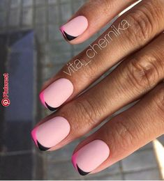 37 short and long acrylic nail art designs for summer 22 Fancy Nails, Pink Nails, Cute Nails, Pretty Nails, Nail Deco, Minimalist Nails, French Tip Nails, Long Acrylic Nails, Stylish Nails