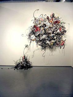 Shinique Smith  3. Nobodys Fool, 2006