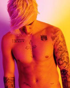 Justin Bieber Flexes for i D, Talks Monkey Episode