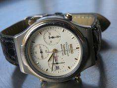 älterer SEIKO Chronograph Titanium Sports 100 guter Zustd. ! | eBay