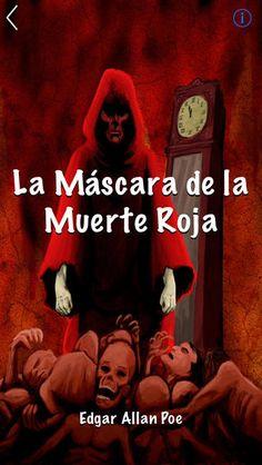 La máscara de la muerte roja, cuento de terror.