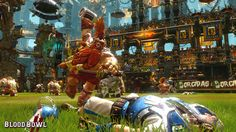 Blood Bowl 2 smashes Warhammer and American football together, in an explosive cocktail of turn-based strategy, humour and brutality, adapted from Games Workshop's famous boardgame. Blood Bowl, American Football, Playstation, Space Battles, Weird Gif, Entertainment Video, Knight Armor, Total War, Game Workshop