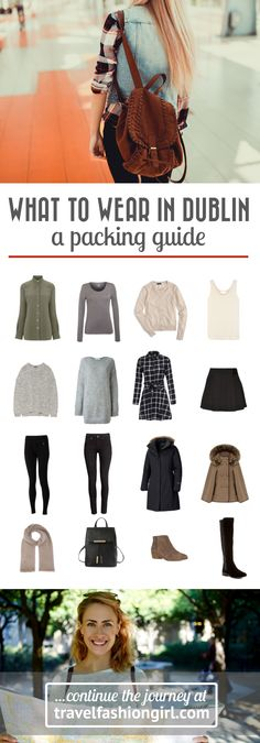 Are you wondering what to wear in Ireland in Winter? Use these packing list ideas for Dublin as a starting point for your trip! | travelfashiongirl.com