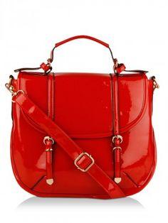 KOOVS Studded Flat Satchel | Bags Online for Womens | Pinterest ...