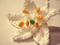 Ravelry: Kerry Lily Flower Crochet Pattern pattern by Camelia Shanahan