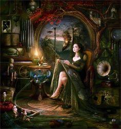 Fine Art and You: Wonderful Illustrations By Melanie Delon