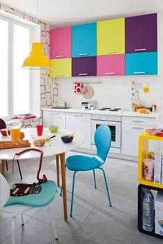 Как создать яркий и красочный интерьер
