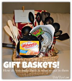 House Warming Gift Baskets-maybe some diy cleaners, my fav recipe's to share, a candle for a nice bath...