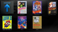 Make XBMC easy to play games (Wii, SNES, NES, ... well, Nintendo games...)