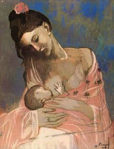 Pablo Picasso – Mother and Child, 1905