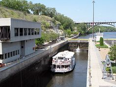 Lunch & Lock cruise aboard the Padelford Riverboats in St. Paul, MN. Mondays & Saturdays, June through August. Advance reservations required, Buy Online & Save.