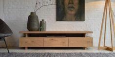 Eiken tv-meubel Sjen