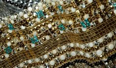 Dolce Fall WInter 2014 Mosaics Collection - Sequins, beads and crystals mosaic