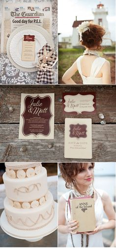 Prince Edward Island Photo Shoot by Rachel Peters Photography + 5 Words Design | Style Me Pretty