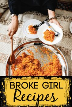 Broke Girl Recipes Cheap Meals For Two, Quick Cheap Dinners, Quick Easy Dinner, Cooking For A Crowd, Cooking On A Budget, Budget Meals, Easy Home Cooked Meals, No Cook Meals, Broken Rice Recipe